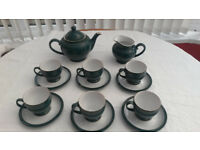 Nice DENBY Greenwich Tea Set