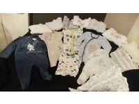 0-3 & 3-6 months boy clothes
