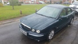 jaguar x type 2ltr diesel 2006 , 40 to 50 mpg