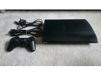 Sony Playstation 3 with games.
