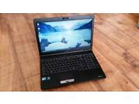 Toshiba Laptop , Intel i3 , Webcam , Wifi , Dvdrw . Windows 10 , Office