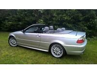 2002 BMW 330 CI M Sport Convertible Full Electrics MOT Not M3 Spares or Repairs