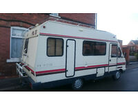 MOTOR HOME 4/5 BERTH GOOD RUNNER READY TO GO WITH MOT