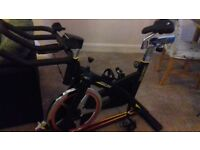 3 month old exercise bike