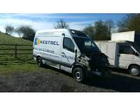Mercedes Sprinter MWB fridge 58 plate
