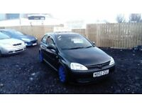 2002 02 VAUXHALL CORSA 1.2 SXI FULL MOT IMMACULATE CONDITION THROUGHOUT FIRST TO SEE WILL BUY £595