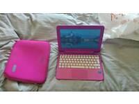"Hp stream 11"" netbook in hot pink"