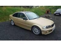 2001 BMW 320ci 2.2 170 bhp manual