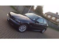 2004 (04) BMW 3 SERIES E46 316ti ES 1.8L PETROL MANUAL 3DR COMPACT ONLY 77K MOT AUG 17 F.S.H 2 KEYS
