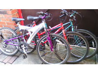 Bunch of ( 3 Bicycles) for sale all in good condition ,decent offers considered.