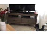 """TV Bench - IKEA HEMNES dark grey (grey-brown) - up to 50"""" TVs"""
