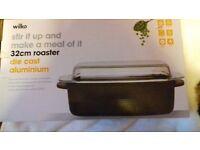 Aluminium roaster