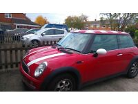 Mini One 1.6 Red 12month MOT