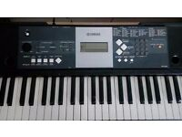YPT230 Yamaha KeyBoard with Manual and Easy Learning Books. Very good condition