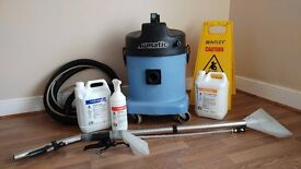 Numatic CTD 570 Carpet & Upholstery Valeting Cleaning Machine With Accessories