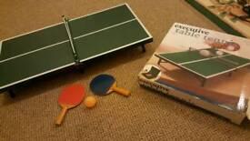 Mini table tenis new
