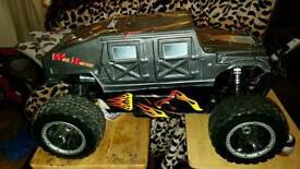 Hummer rc monster truck