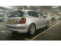 2002 HONDA CIVIC TYPE R EP3 93K GOOD COND IN/OUT BARGAIN AT £2995