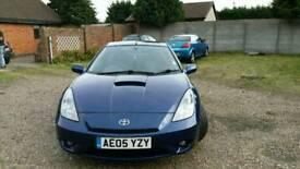 Toyota celica blue edition