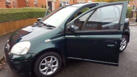 1 OWNER, 88K, 5 DOOR, 2003 FACELIFT, TOYOTA YARIS 1.3 VVT-i T SPIRIT MODEL