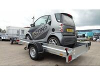 MOTORHOME TRAILER SMART CAR TRAILER 1300KG TIPPER TRAILER