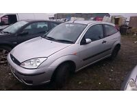 2004 FORD FOCUS ZETEC, 1.8 TDCI, BREAKING FOR PARTS ONLY, POSTAGE AVAILABLE NATIONWIDE