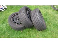 Fiesta wheels 195/50/15 ideal for spares