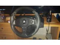 Thrustermasterps4/ps3 steering wheel and pedals