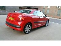 2007 | Peugeot 207 CC 1.6 | Red | Convertible | Petrol | Manual