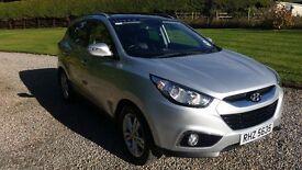 Hyundai IX 35 1.7 Diesel - 2011 - Silver - 52228 Miles