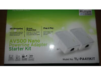 TP Link powerline adaptors pack of 2