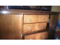 Solid Wood Victorian sideboard