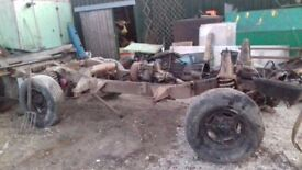 land rover 200 tdi disco rolling chassis