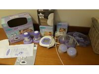 Lansinoh 2 in 1 double electric breastpump with all new parts