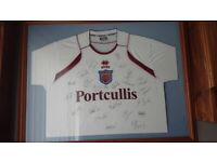 e783c822ed0 Signed football shirt | Sports, Leisure & Travel Equipment for Sale ...