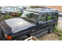 AUTOMATIC DIESEL 7 Seater Land Rover Disco ES 300tdi Loaded with extras Spares/Repairs £850 ovno