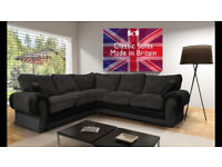 Jumbo size new Asheley conner sofa avaiable with FREE foot stool