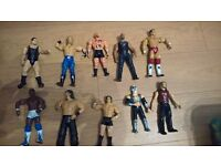 job lot bulk collection wrestling figures