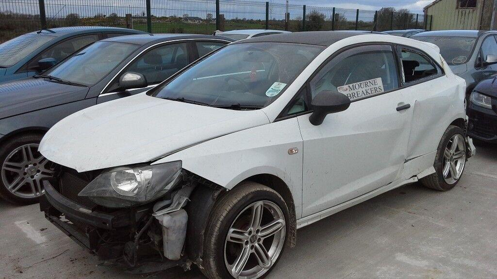 **FOR BREAKING** 2013 Seat Ibiza 1.2 petrol.