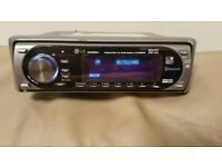 CAR HEAD UNIT LG MP3 CD PLAYER WITH BLUETOOTH AUX 4x 50 AMPLIFIER AMP STEREO RADIO BT