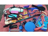 Joblot ladies exercise equipment for fitness, weight loss