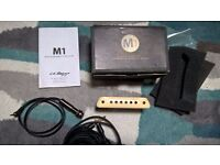 LR Baggs M1 acoustic guitar pickup