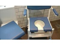 Shower chair.. commode. Cost 260 pounds