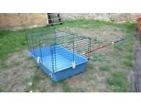 Small indoor pet hutch, guinea pig, rabbit, gerbil, hamster, degu, rat, mouse