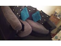 Corner sofa and chair in great condition black and grey need gone asap £150 if gone tomorrow