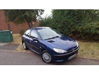 For sale, Peugeot 206 1.4 8valve, blue, elec Windows/mirrors, aircon