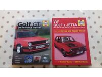 Vw Golf Mk1 Mk2 Service / Performance Manuals.