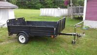 SOLD PPU -5x8 Snowbear utility trailer