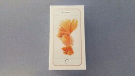 APPLE IPHONE 6S 32GB ROSE GOLD BRAND NEW SEALED WITH WARRANTY & RECEIPT