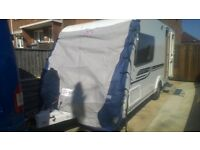 New Caravan cover for 2012 swift diamond elite 2berth with end bathroom